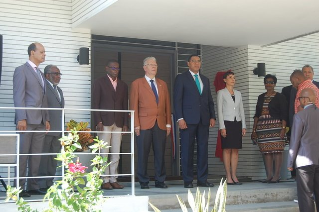 Inauguration of the new premices of the Chancellery ©French Embassy services