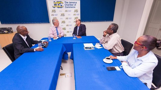 Closer and stronger relations with the Jamaica Chamber of Commerce