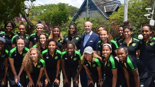 Reggae Girlz on the road to France !